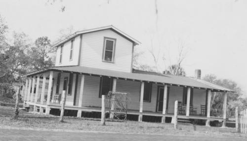 This photograph was taken in approximately 1924. The house is at 1891 Wacassassa St.