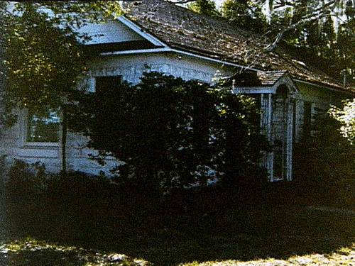 An exterior photograph of the house located at 1095 Old Charleston Way, off of Ridge Road, in Largo, FL, c. 1989.